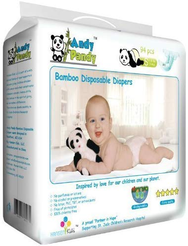 a pack of Andy Pandy diapers