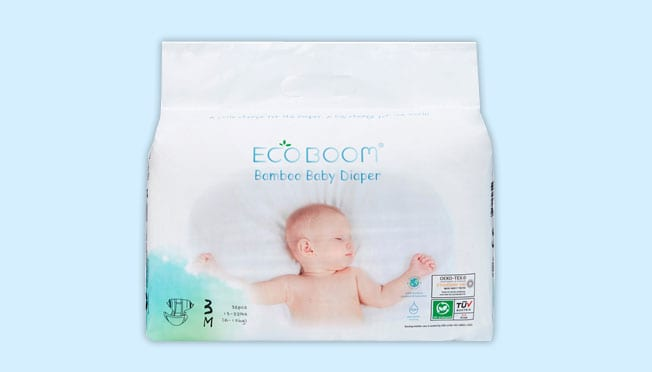 a pack of Eco Boom Diapers
